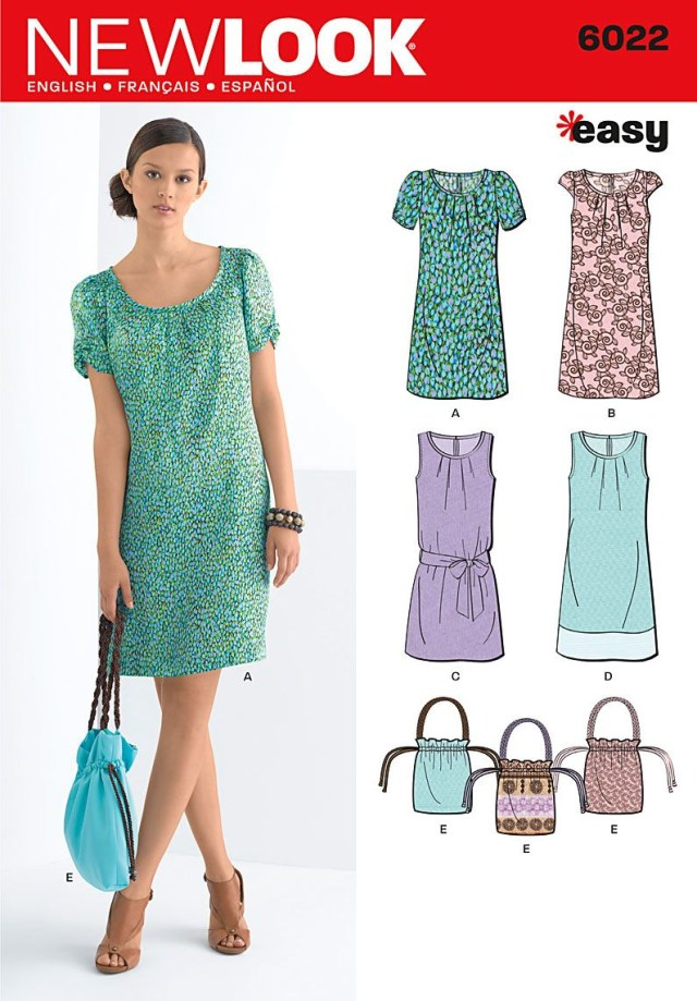Sewing Patterns For Beginners New Look 6022 Misses Dresses Sew Organ Ized Sewing Patterns