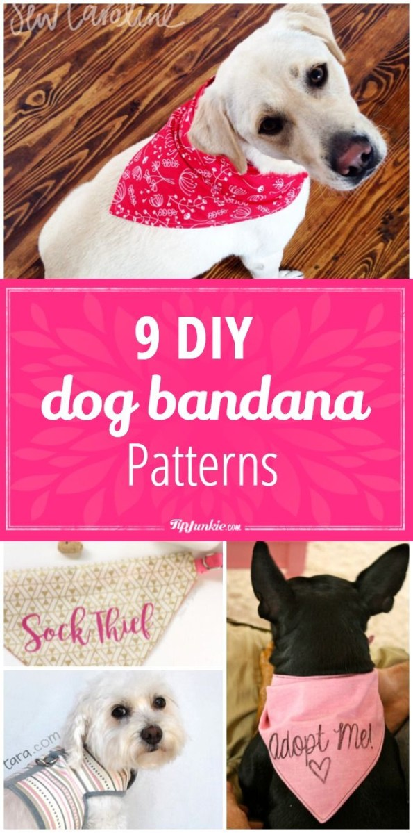 Sewing Patterns For Dogs 9 Diy Dog Bandana Patterns Sewing Patterns How To Dogs Dog