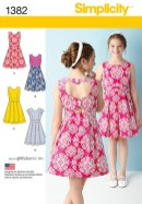 Sewing Patterns Girls Sewing Patterns Simplicity 1382 Sewing Patterns Pinterest