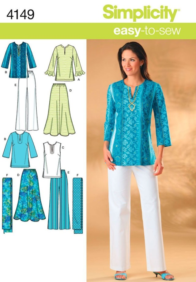 Sewing Patterns Simplicity Cheap Easy Tunic Pattern Free Find Easy Tunic Pattern Free Deals On