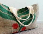 Sewing Projects Upcycled Upcycled Burlap Tote