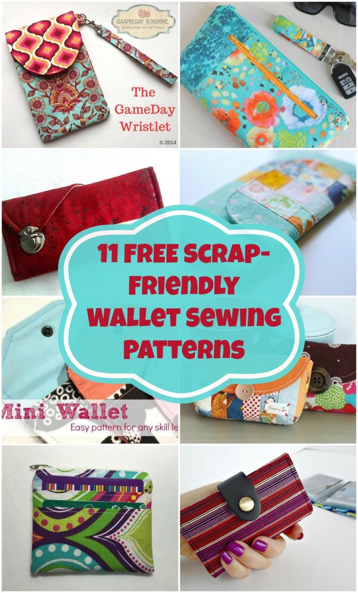 23+ Beautiful Photo of Sewing Wallet Pattern Free