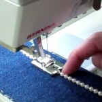 Sewing With A Serger Bernina Cording Piping Sewing Machine Serger Foot Youtube