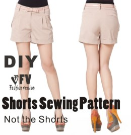 Shorts Sewing Pattern Pants Sewing Pattern The Trousers Patternnot The Pants Low Waist