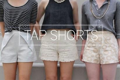Shorts Sewing Pattern Tap Shorts Pattern Katy Laney