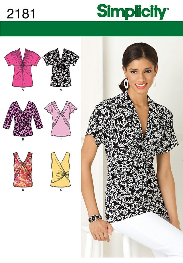 Simplicity Sewing Patterns Blouse Top Tunic Sewing Pattern Simplicity Choose Plus 4 24 Things