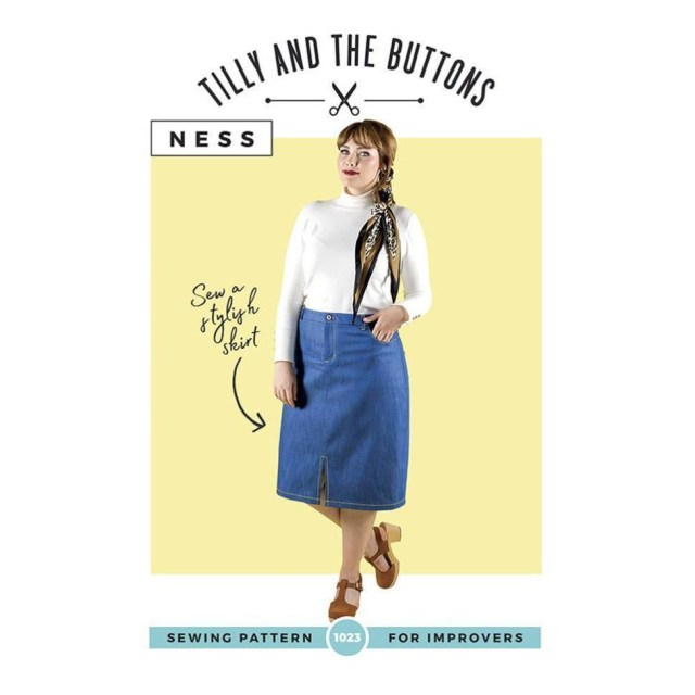 Skirt Sewing Patterns Tilly And The Buttons Ness Skirt Sewing Pattern Dressmaking Patterns