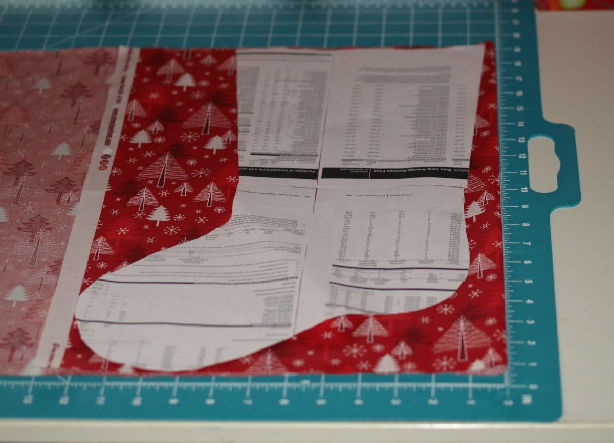 Stocking Sewing Pattern Christmas Stocking Tutorial Fabricworm