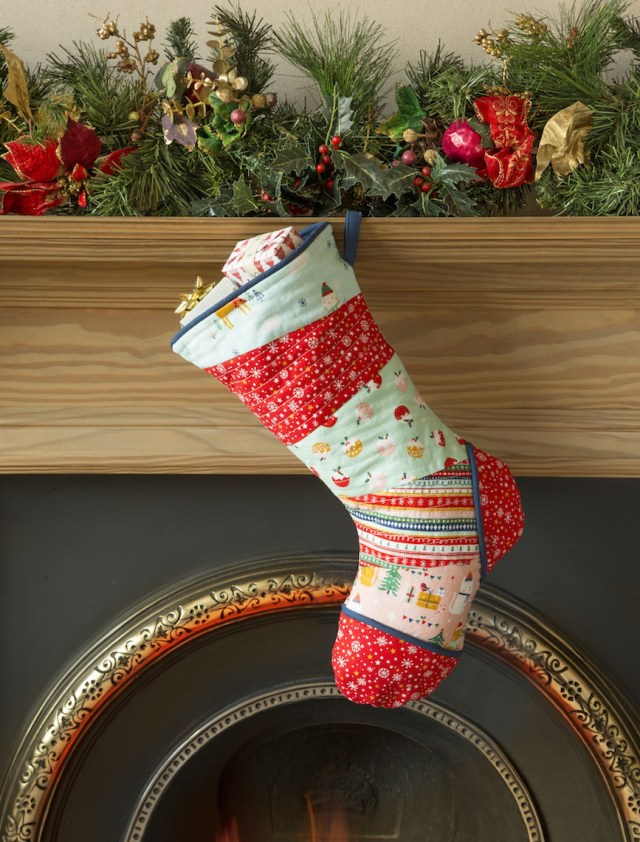 Stocking Sewing Pattern Holly Jolly Christmas Stocking Love Sewing