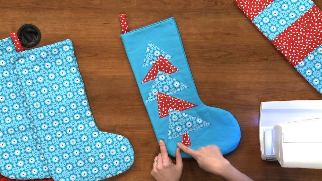Stocking Sewing Pattern How To Make A Christmas Stocking National Sewing Circle Youtube