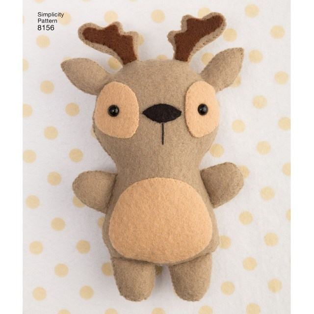 Stuffed Animal Sewing Patterns Simplicity Pattern 8156 Stuffed Animals With Pillow House And Toys