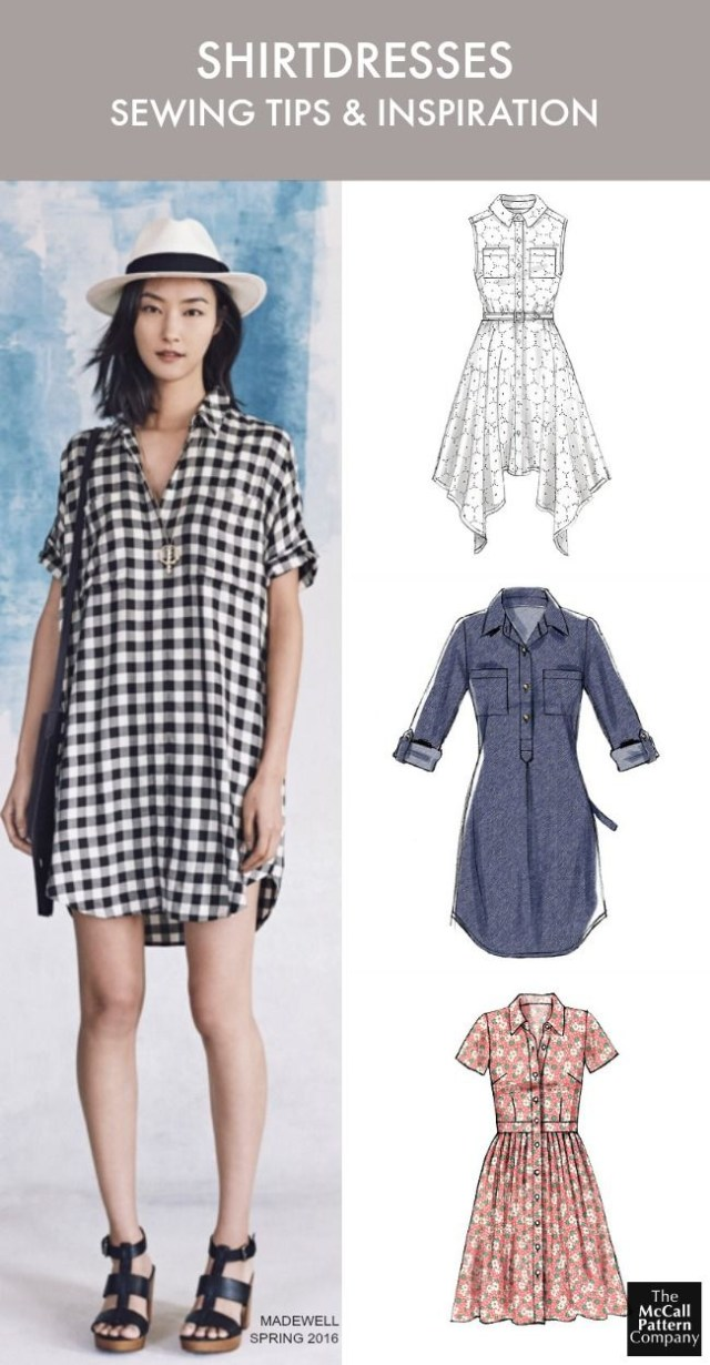 Sundress Sewing Patterns The Dress Style You Need To Sew Now Plus Tips Shirtdress