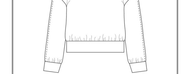 Sweatshirt Sewing Pattern Ali Sweatshirt Pdf Pattern Sew Diy