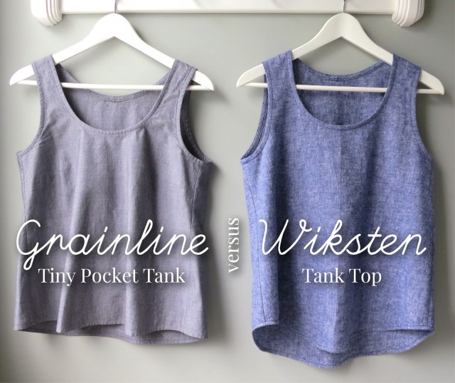Tank Top Sewing Pattern Mmmcrafts In Which I Sew A Large Number Of Woven Tanks Or