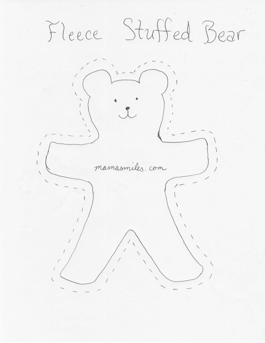 Teddy Bear Sewing Pattern Free Easy Sew Patterns Great For Beginners