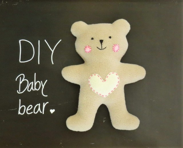 Teddy Bear Sewing Pattern How To Sew Quickly A Cute Little Soft Ba Teddy Bear Sew Toy
