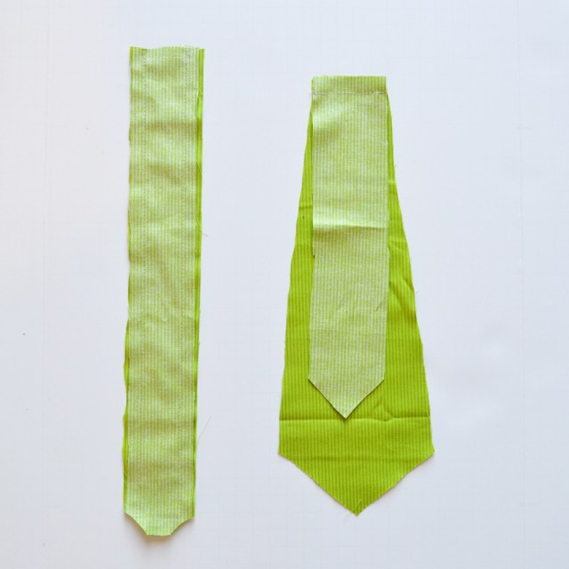 Tie Sewing Pattern A Free Pattern And Tutorial For How To Sew A Ba Necktie Tie The