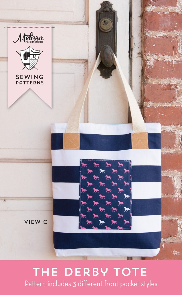 Tote Bag Sewing Pattern A New Tote Bag Sewing Pattern The Polka Dot Chair