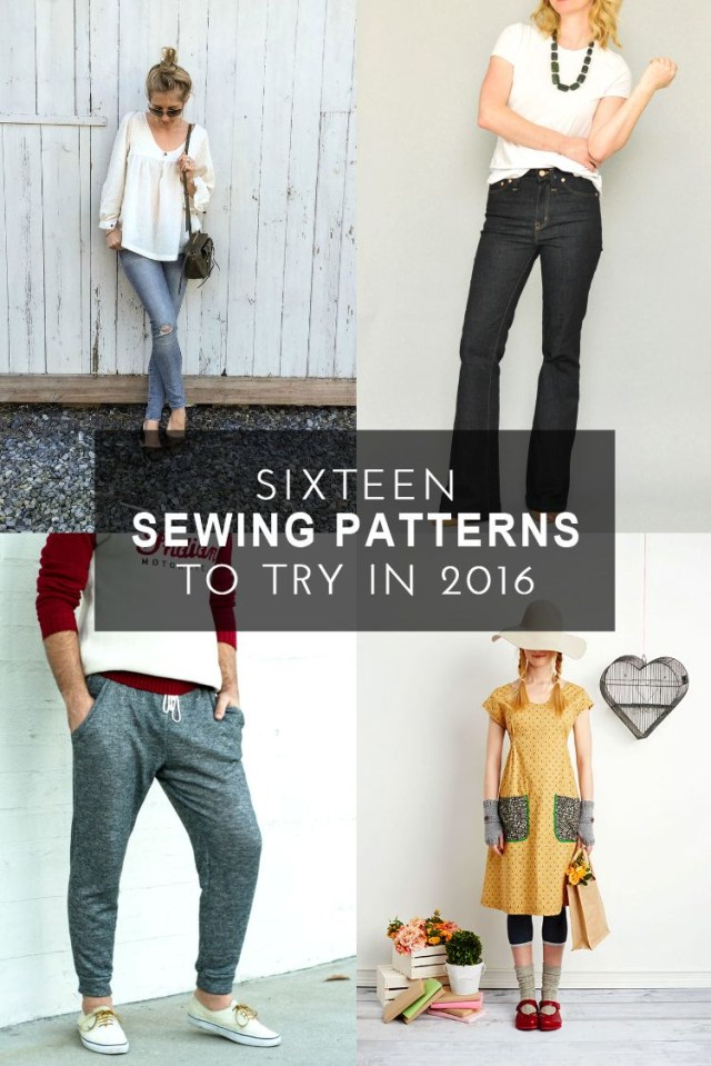 Trendy Sewing Patterns 16 Modern Sewing Patterns To Try In 2016 Sew What Pinterest