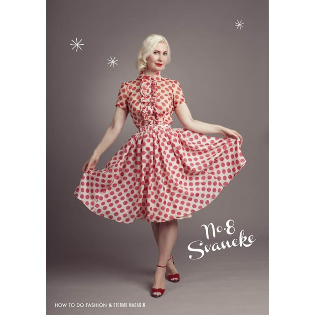 Trendy Sewing Patterns How To Do Fashion Sewing Pattern No8 Svaneke Two Piece Blouse Skirt