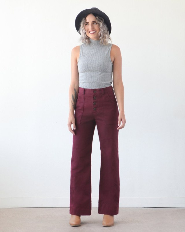 Trendy Sewing Patterns Lander Pantsshorts Sewing Pattern True Bias Cottoneer Fabrics