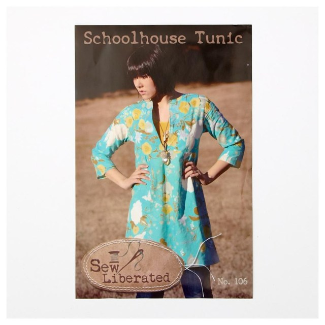 Tunic Sewing Patterns Sew Liberated Schoolhouse Tunic Pattern Discount Designer Fabric
