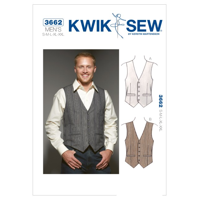 Vest Pattern Sewing Vests S M L Xl Xxl Pattern Joann