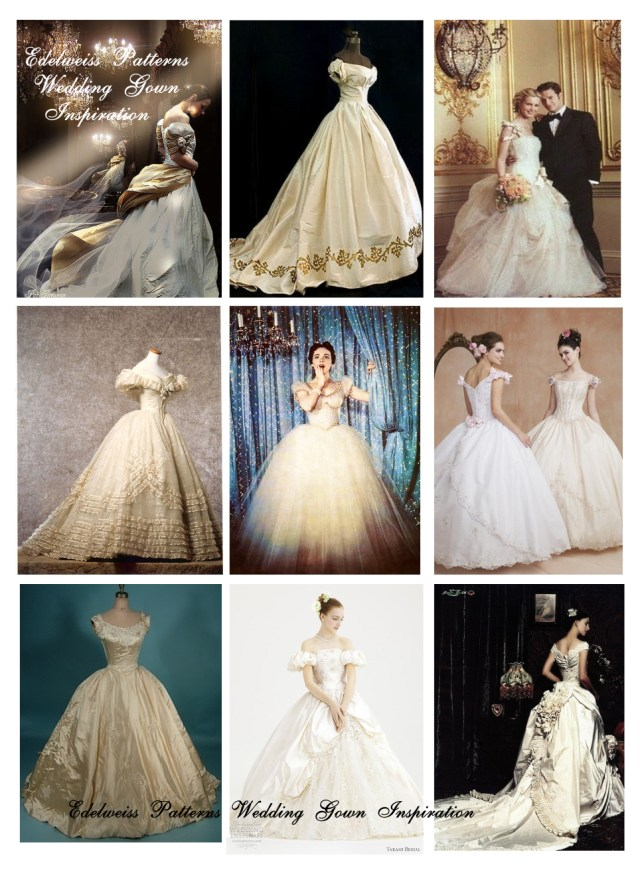 Victorian Sewing Patterns How I Sewed My Wedding Dress Edelweiss Patterns Blog