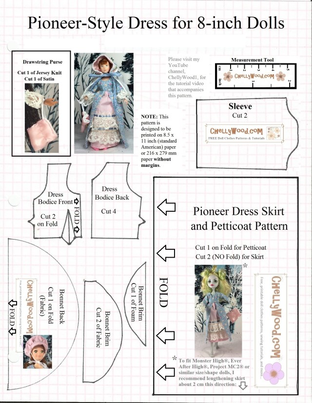 Victorian Sewing Patterns Sew A Miniature Victorian Drawstring Purse For Your Dolls W Free