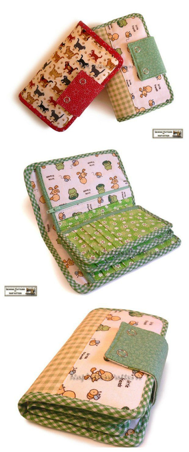 Wallet Sewing Pattern Awesome Wallet Pattern Youll Love Bags To Sew Wallet Sewing