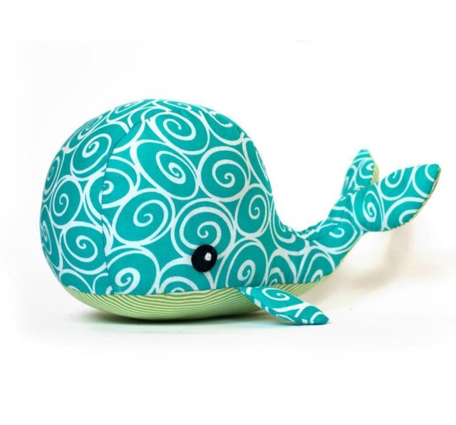 Whale Pattern To Sew Whale Plushie Sewing Pattern Craftsy