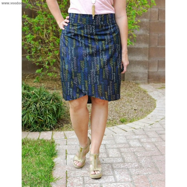 Wrap Skirt Sewing Pattern The Emerson Wrap Skirt Sewing Pattern Alternative Cool Funky