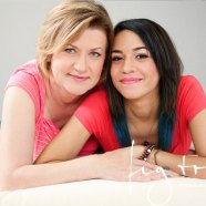 Mom & daughter glamour photography session