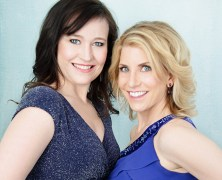 Glamour session with Sarah and Sheila