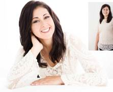 Glamour photography session on Main Line