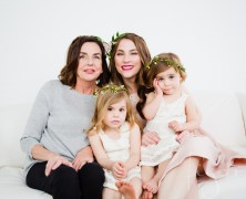 Three generation shoot for Katie
