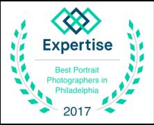 Awarded best portait photographer in Philadelphia