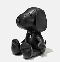 Coach X Peanuts Large leather snoopy doll