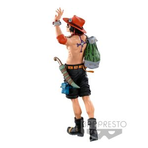 One Piece Banpresto World Figure Colosseum 3 Super Master Stars Piece The Portgas D. Ace The Original figure 30cm