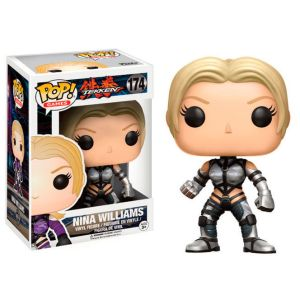 POP figure Tekken Nina Williams silver Exclusive
