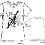更新!【あみあみ】LIVERTINEAGE×SWORD ART ONLINE II コラボTシャツ 第二段 COUNTER/ホワイト-M