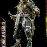 更新!【あみあみ】Teenage Mutant Ninja Turtles(ミュータント・タートルズ) Michelangelo(ミケランジェロ) 可動フィギュア