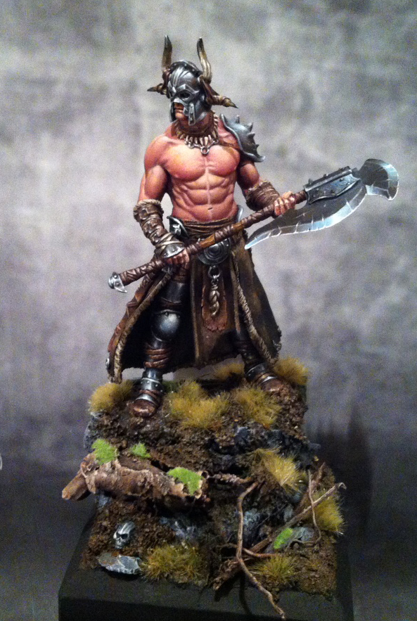 Painting the Black Sun Barbarian (with emphasis on NMM) - by Andy Gillaspy