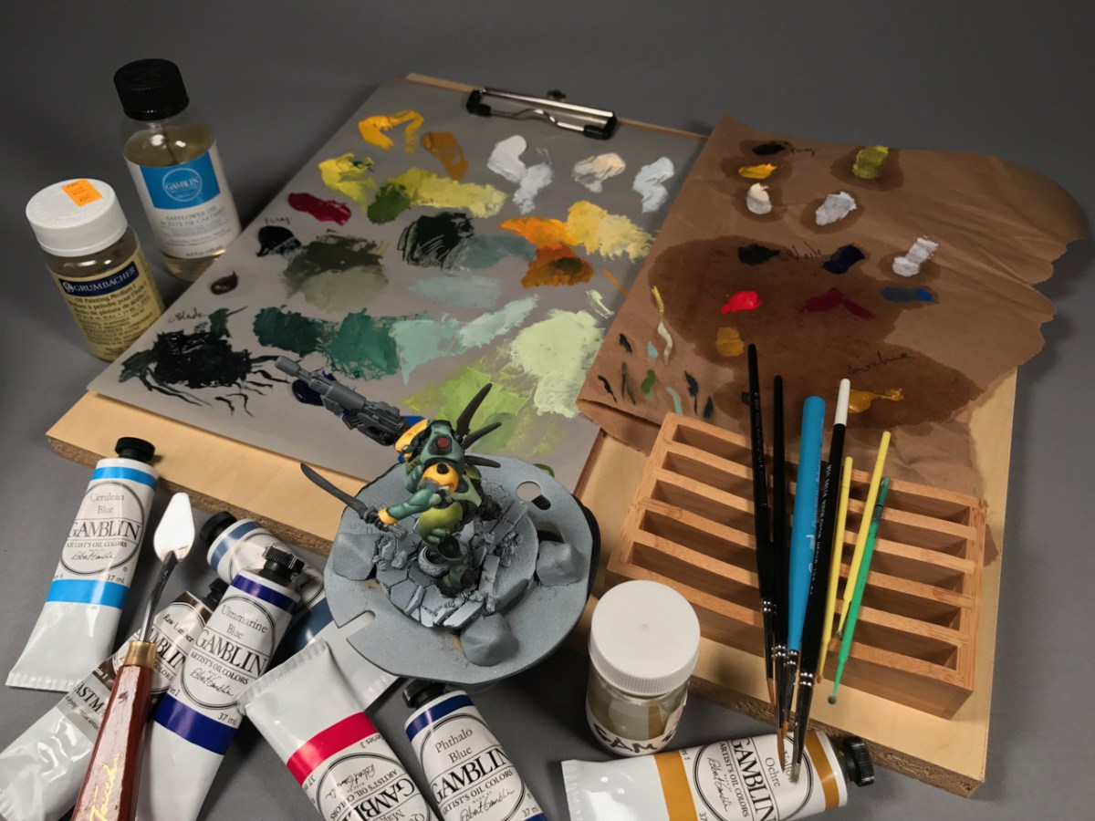 The Science of Oil Paints with Kyle Kolbe