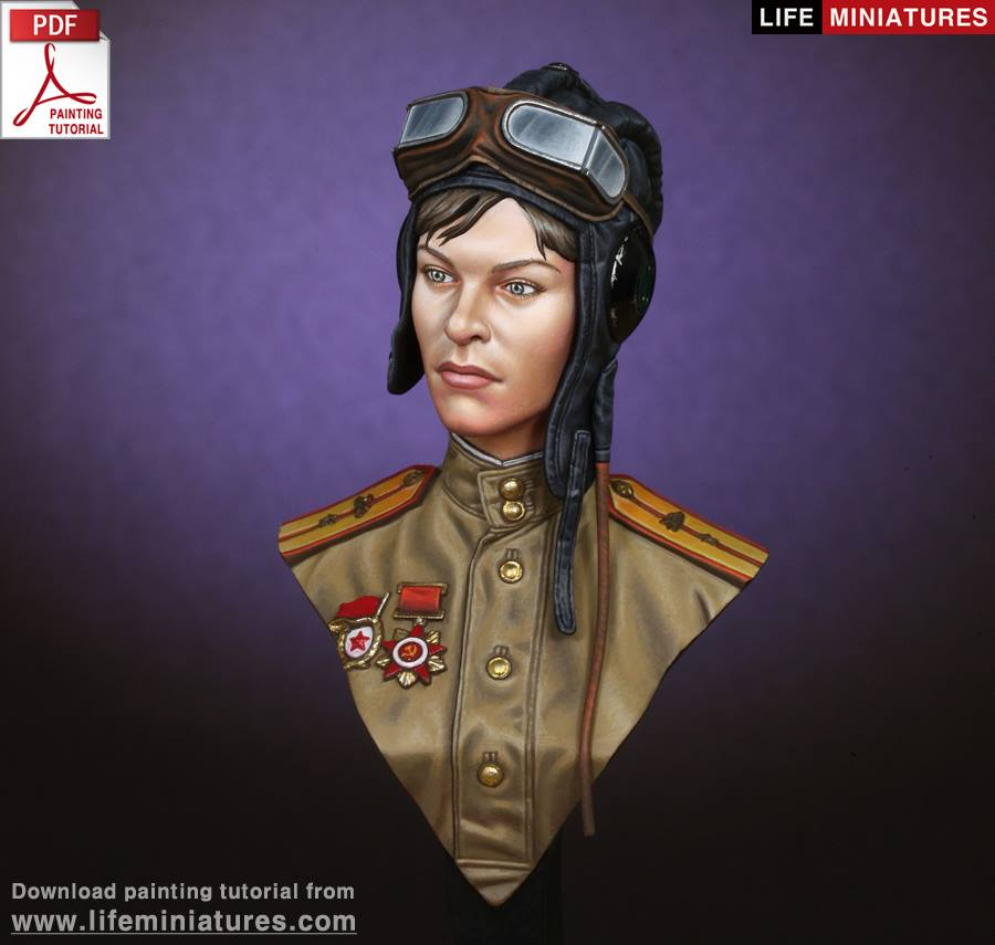 WWII Soviet Female Tanker - An In-Depth Review (Life Miniatures)
