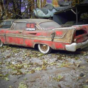Unmissable Art Issue 4 - Jens Trenkle abandoned Plymouth Fury