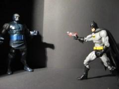 The death of Darkseid/Batman