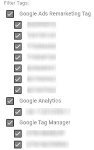 google tam manager record