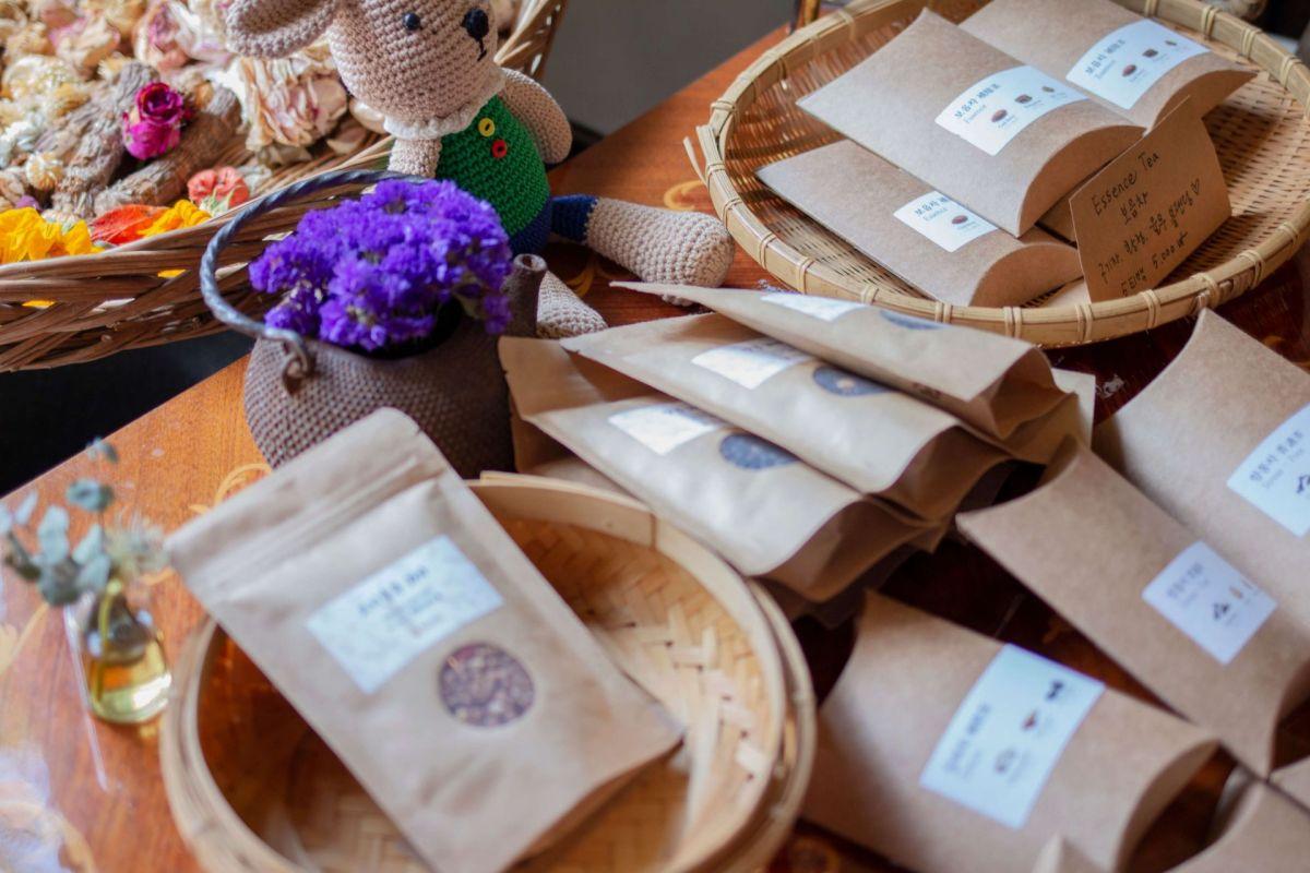 Tea Therapy at haengrang branch seoul