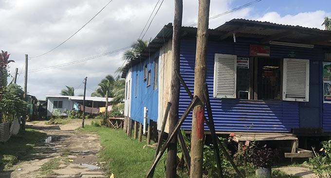 Wailea informal settlement.
